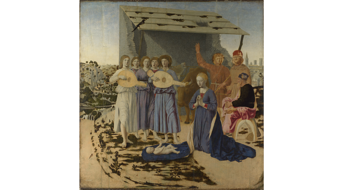 The Nativity, Piero della Francesca