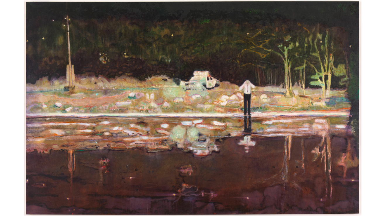 Echo Lake, Peter Doig