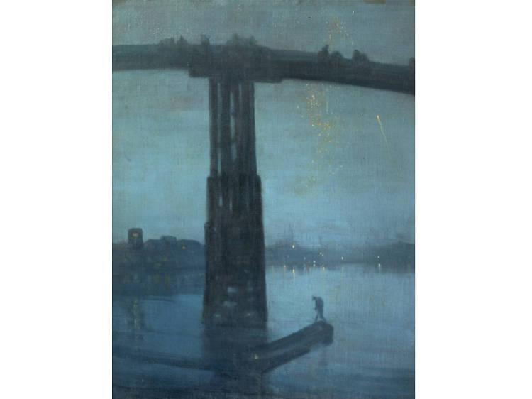 'Nocturne Blue and Gold: Old Battersea Bridge' - James Abbott McNeill Whistler