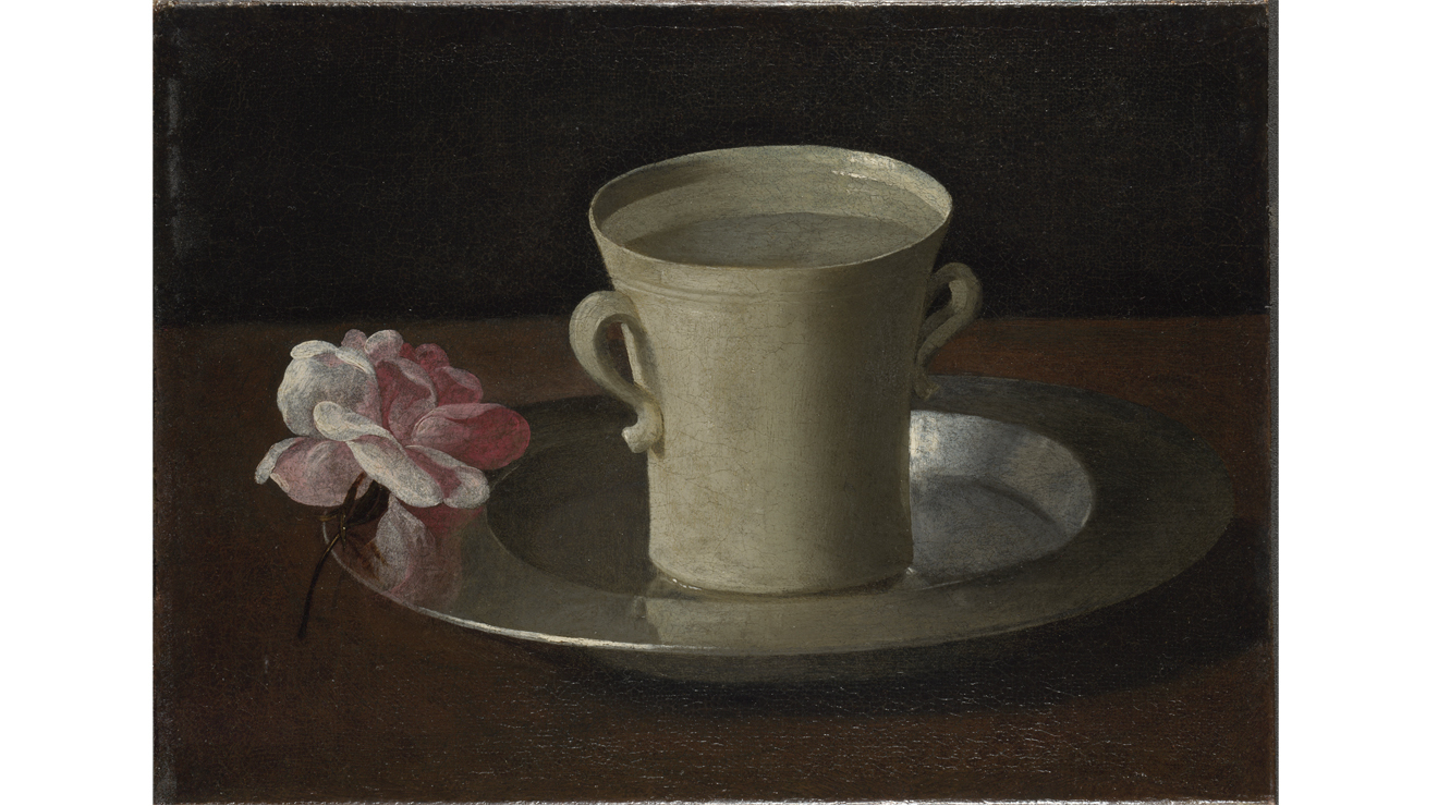 'A Cup of Water and a Rose' - Francisco de Zurburán