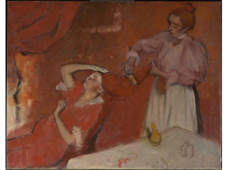 'Combing the Hair' - Hilaire-Germain-Edgar Degas