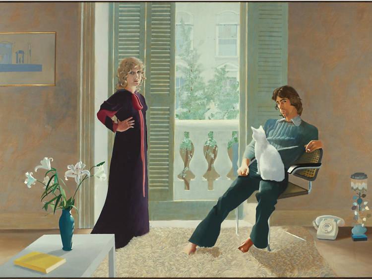 'Mr and Mrs Clark and Percy' - David Hockney
