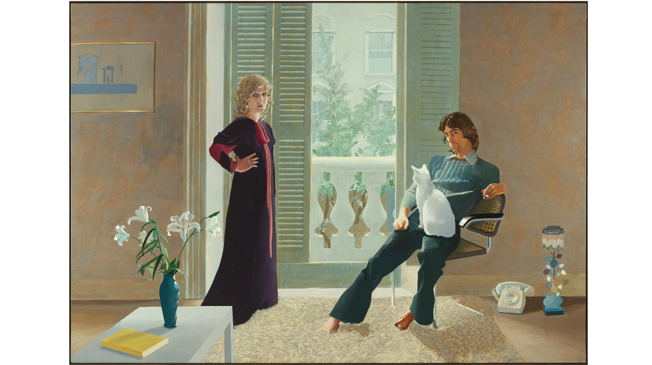 'Mr and Mrs Clark and Percy' - David Hockney