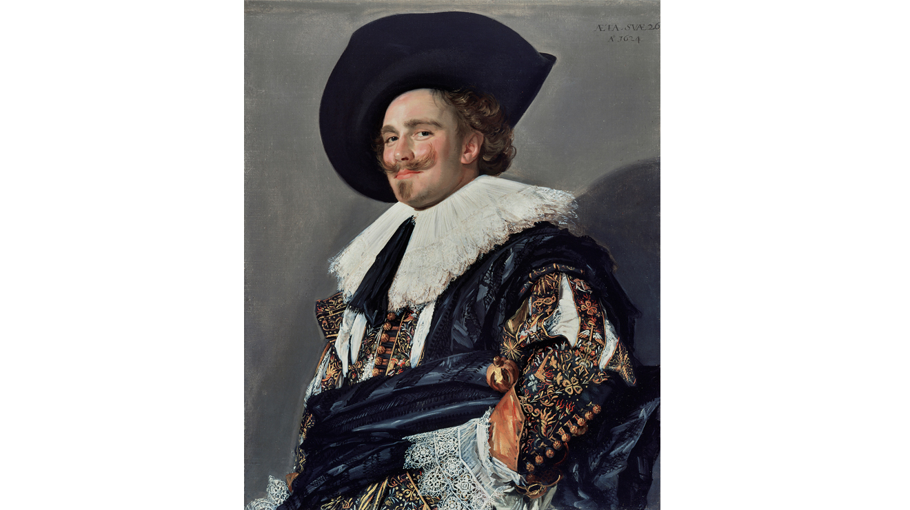 'Laughing Cavalier' - Frans Hals
