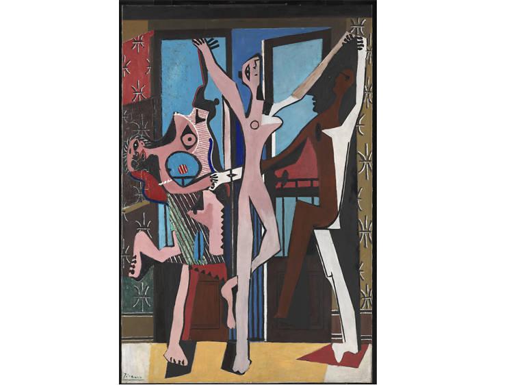 'The Three Dancers' - Pablo Picasso
