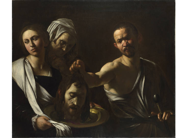 'Salome receives the Head of John the Baptist' - Caravaggio