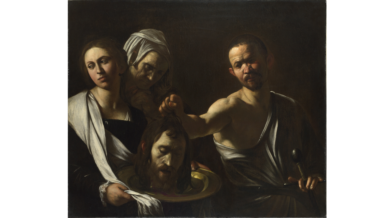 Salome receives the Head of John the Baptist, Caravaggio