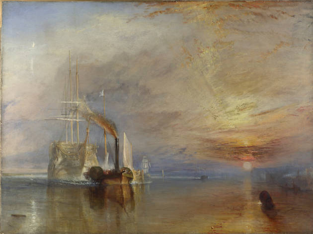 The Fighting Temeraire, JMW Turner