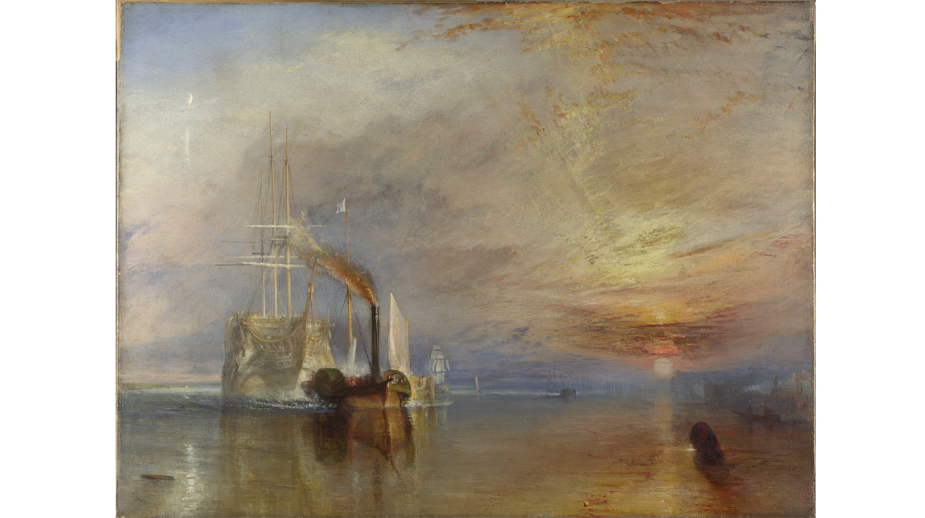 'The Fighting Temeraire' - JMW Turner