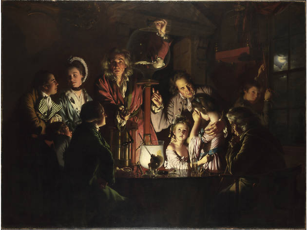 An Experiment on a Bird in the Air Pump, Joseph Wright of Derby