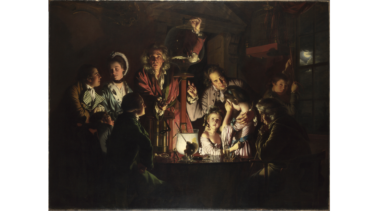 'An Experiment on a Bird in the Air Pump' - Joseph Wright of Derby