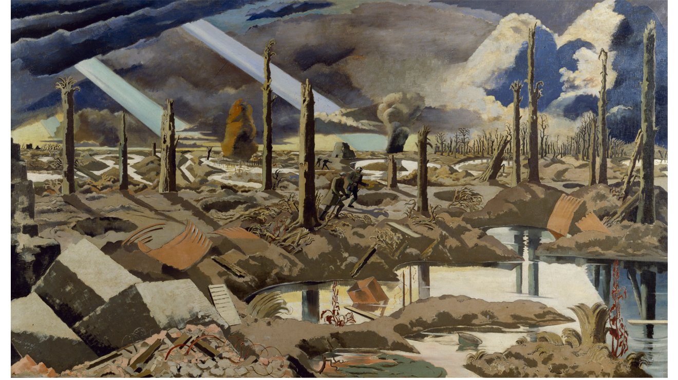 'The Menin Road', Paul Nash
