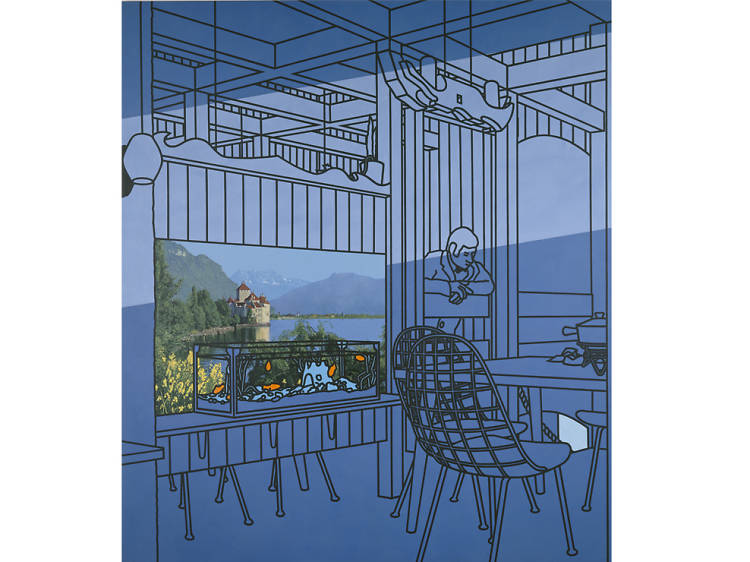 'After Lunch' - Patrick Caulfield