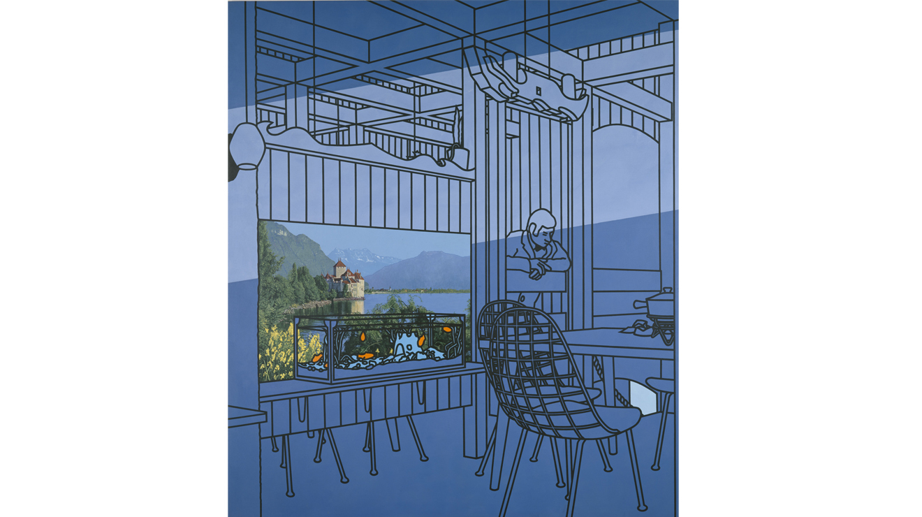 After Lunch, Patrick Caulfield