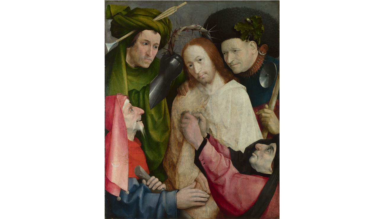 'Christ Mocked (The Crowning with Thorns)' - Hieronymus Bosch