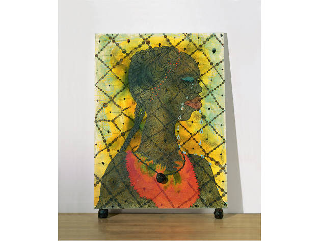 No Woman No Cry, Chris Ofili