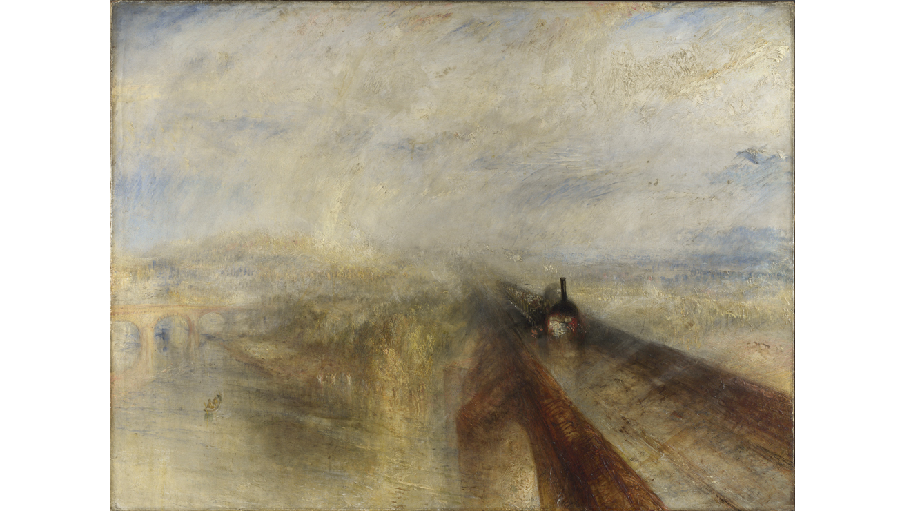 'Rain, Steam and Speed' - JMW Turner