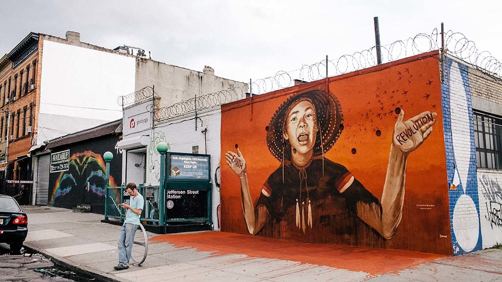 The NYC walking tour of Bushwick's best graffiti