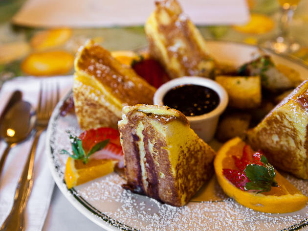French toast at Mama's on Washington Square