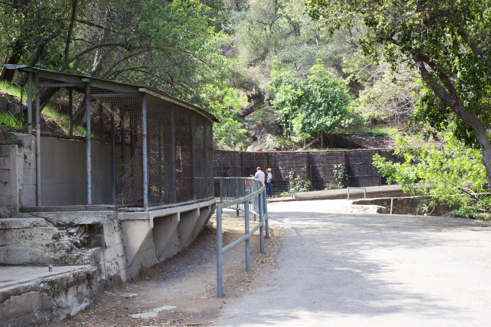 Old Zoo at Griffith Park.