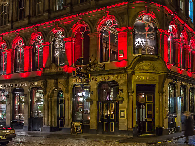 The Cafe Royal, Bars, Edinburgh