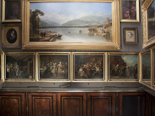 A Rake's Progress, William Hogarth