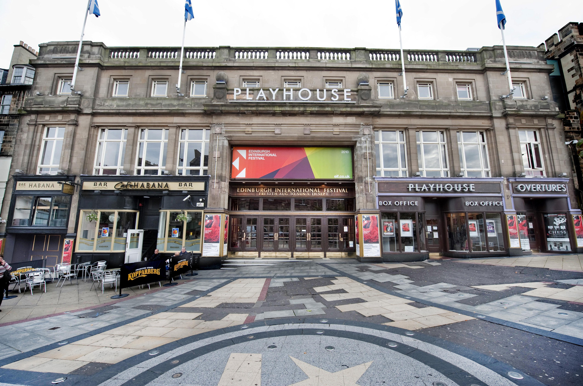 The Edinburgh Playhouse, Theatre, Edinburgh