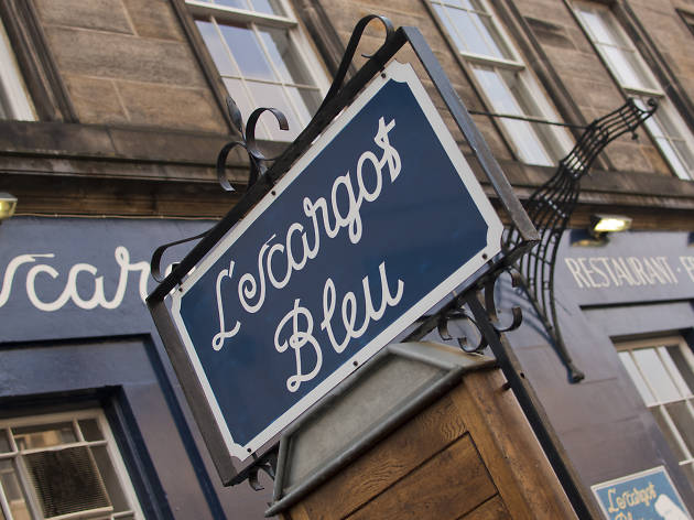 L'escargot Bleu, Restaurants, Edinburgh