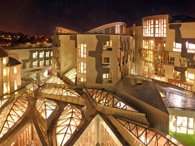 The Scottish Parliament, Attractions, Things to do, Edinburgh