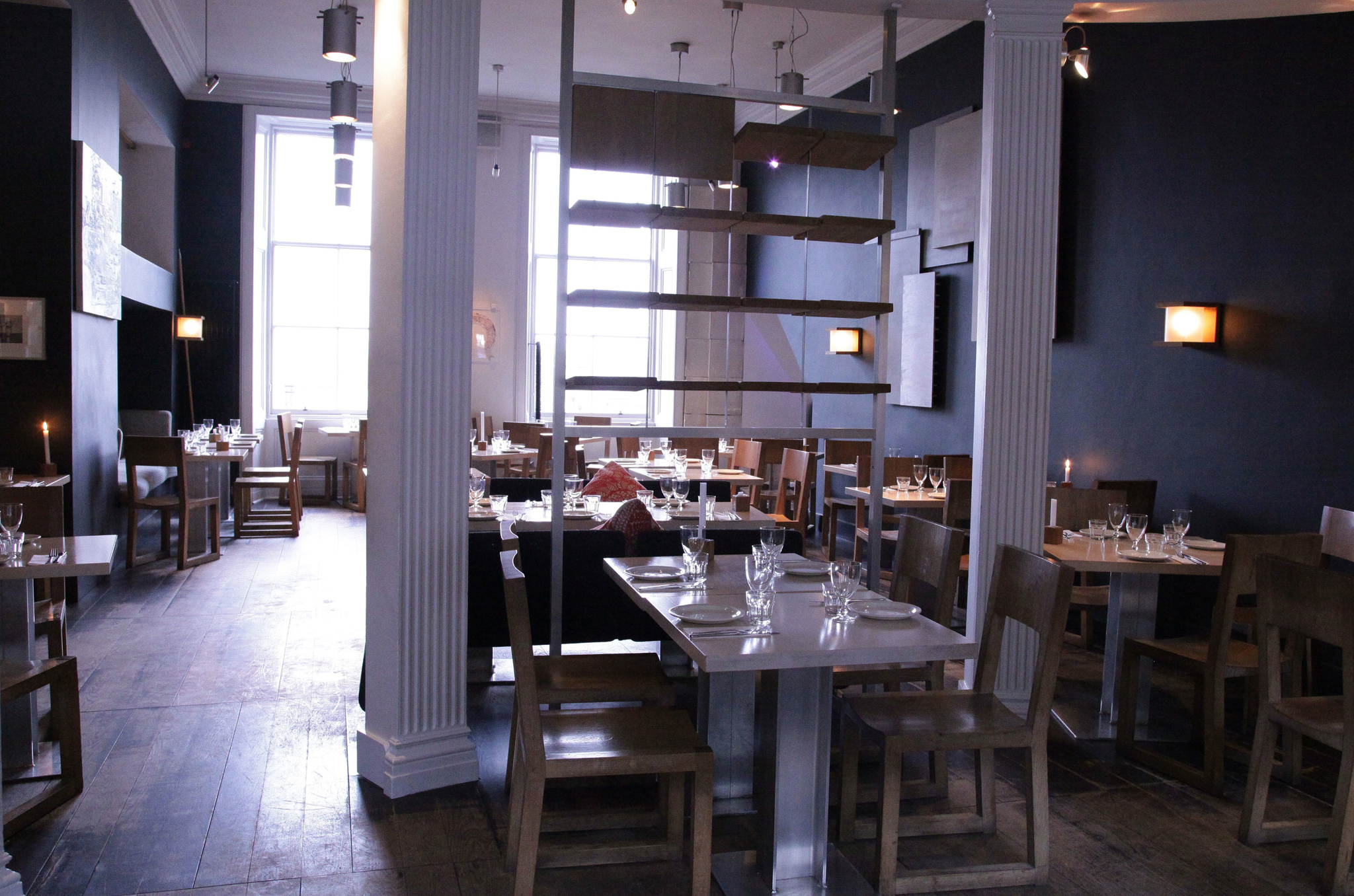 The Outsider, Restaurants, Edinburgh