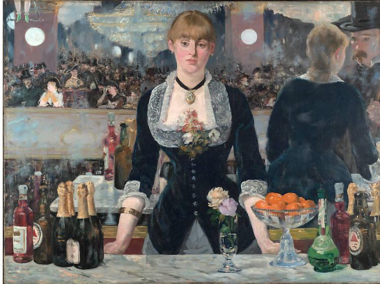'A Bar at the Folies-Bergère' - Edouard Manet