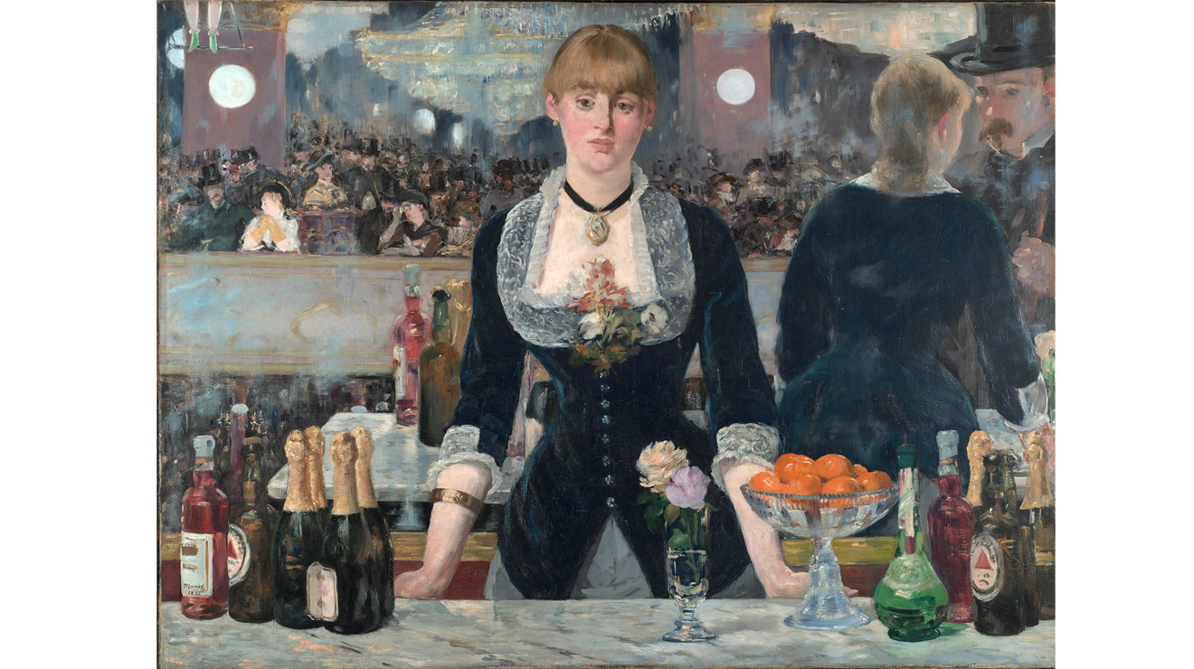 'A Bar at the Folies-Bergère' - Edouard Manet