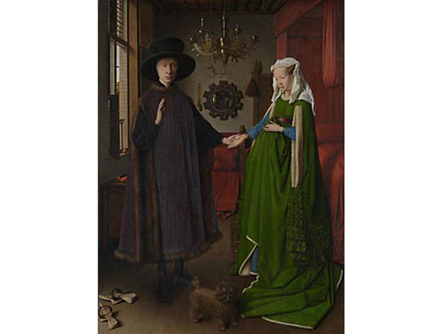 'The Arnolfini Portrait', Jan Van Eyck