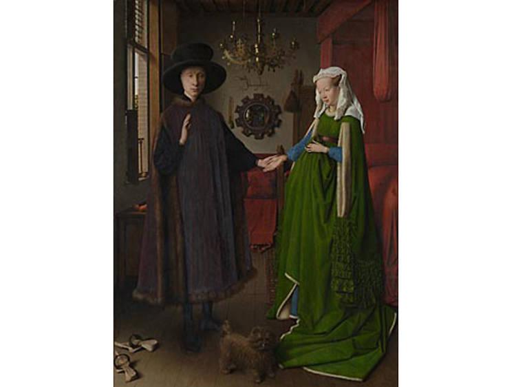 'The Arnolfini Portrait' - Jan Van Eyck