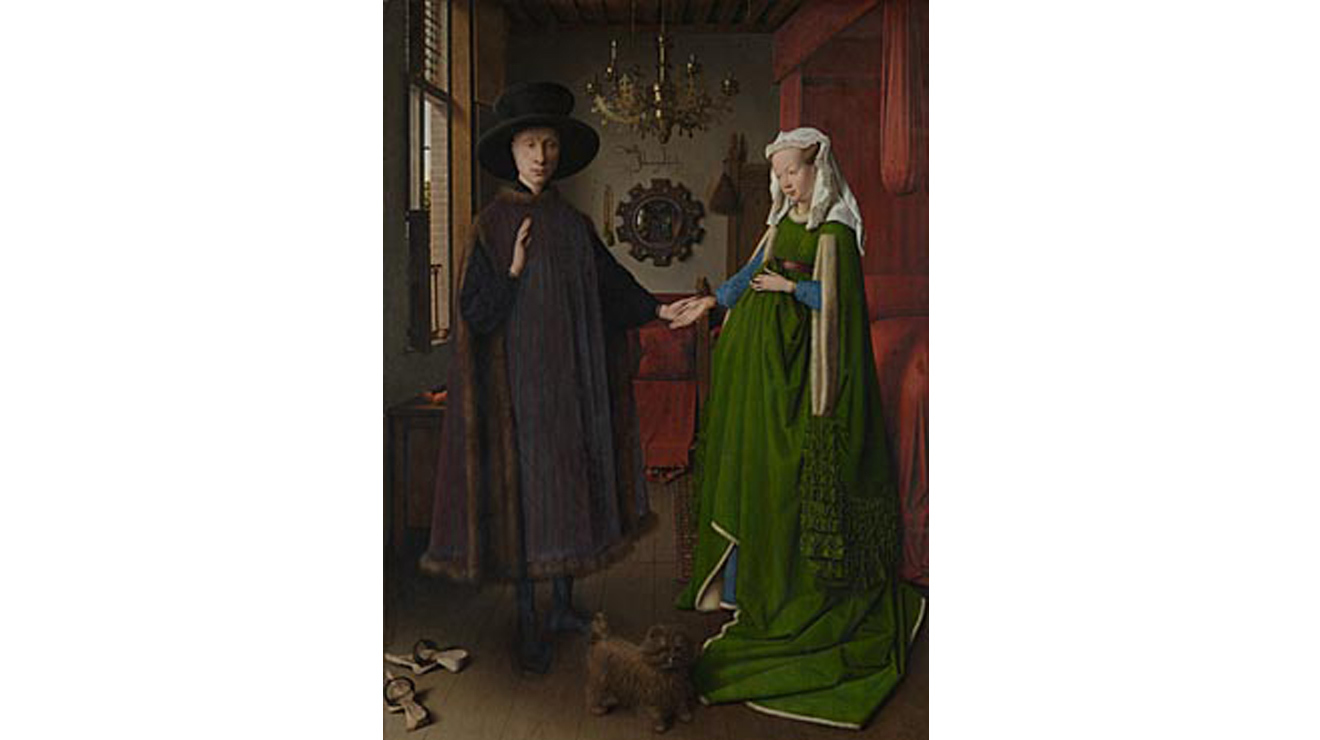 'The Arnolfini Portrait' - Jan Van Eyck