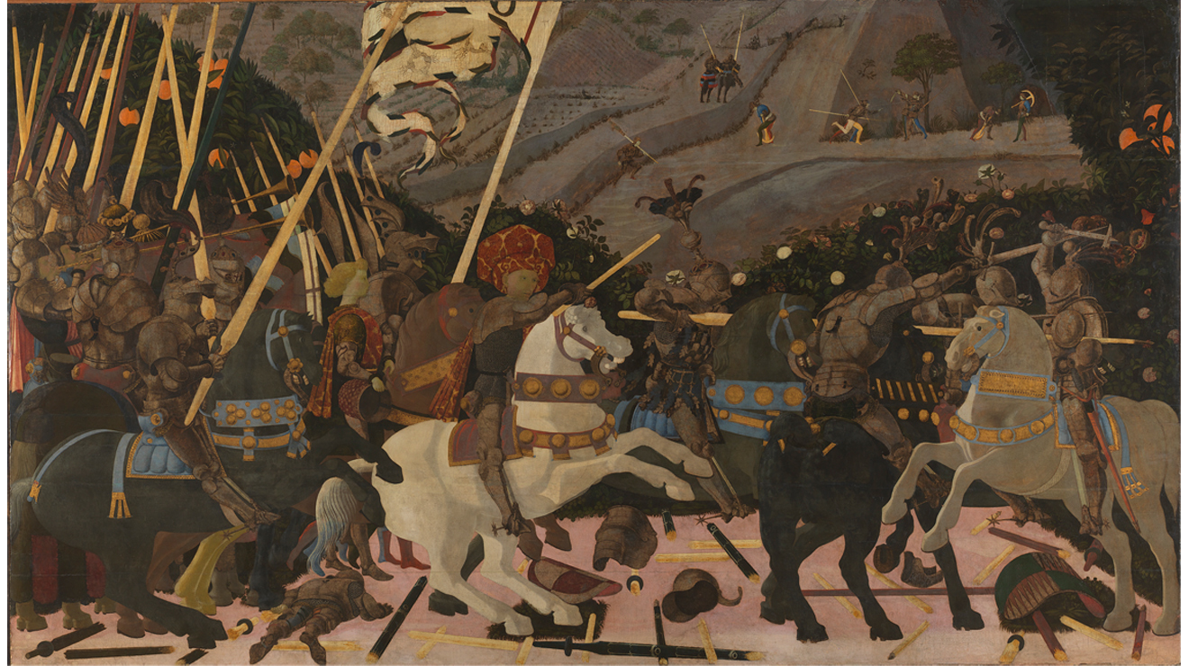 'Battle of San Romano' - Uccello