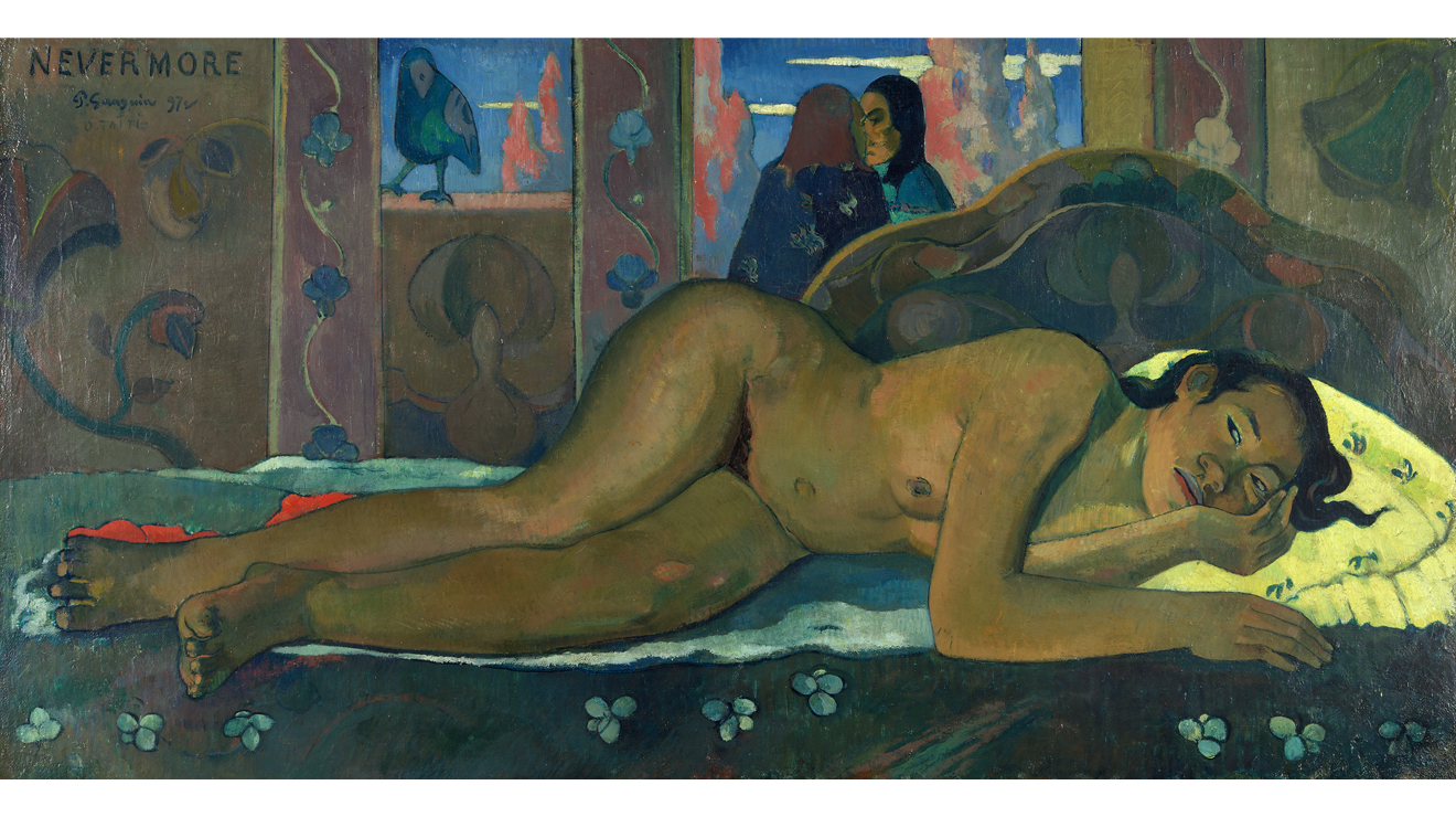 'Nevermore' - Paul Gauguin