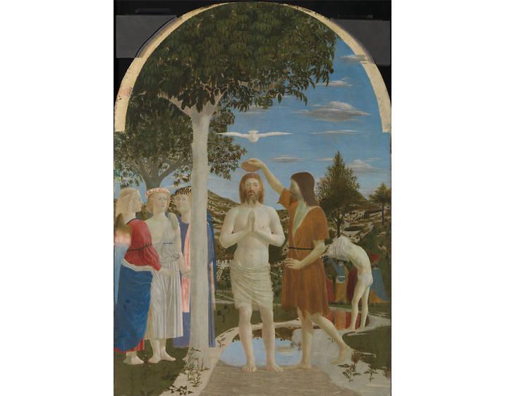'The Baptism of Christ' - Piero della Francesca