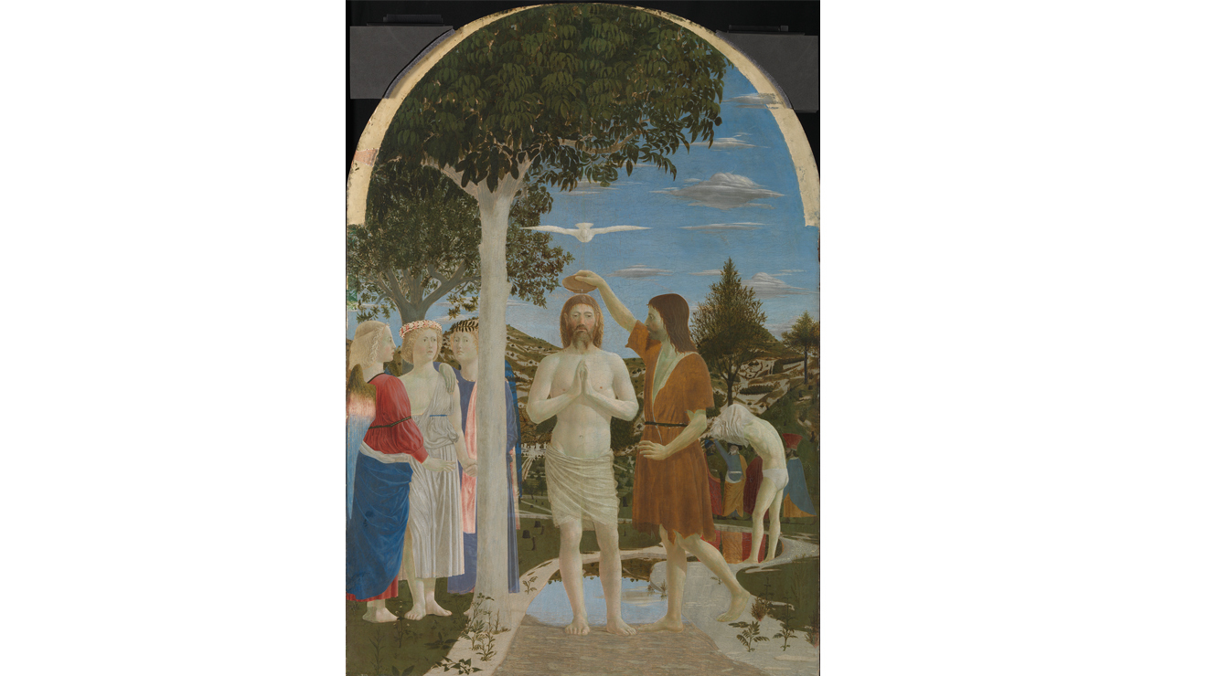 'The Baptism of Christ' - Piero della Francesca