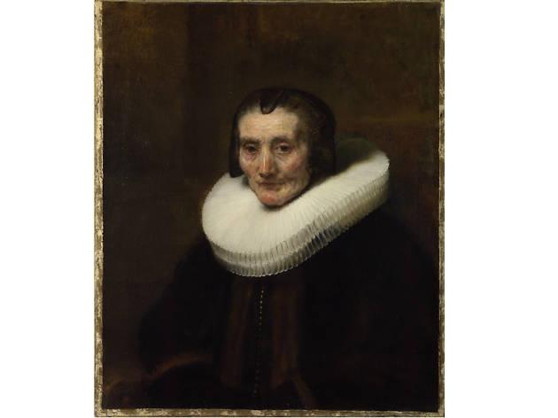 Portrait of Margharete de Geer, Rembrandt