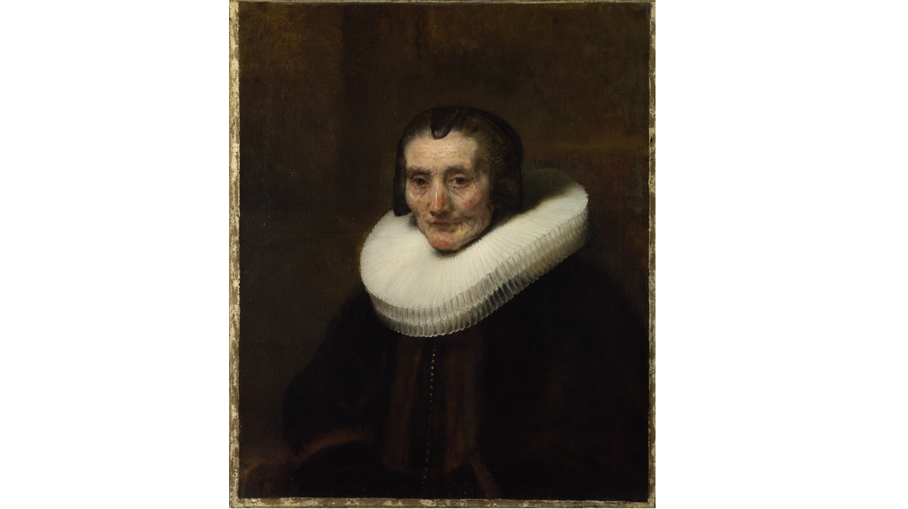 'Portrait of Margharete de Geer' - Rembrandt van Rijn