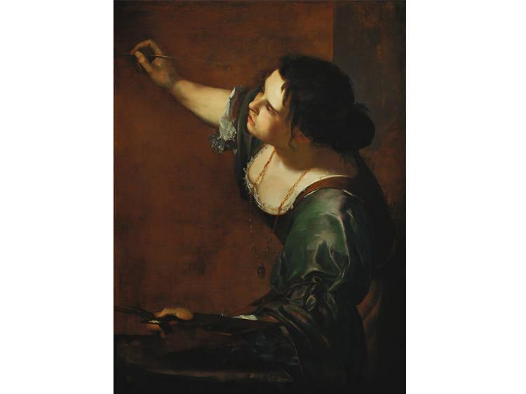 'Self-Portrait as the Allegory of Painting' - Artemisia Gentileschi