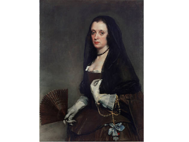'The Lady with a Fan' - Diego Velázquez