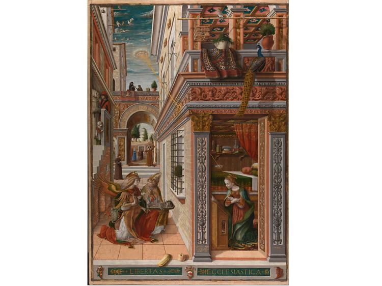 'The Annunciation' - Crivelli