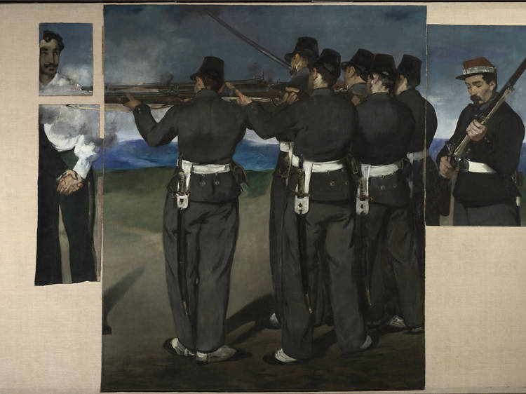 'The Execution of Maximilion' - Edouard Manet