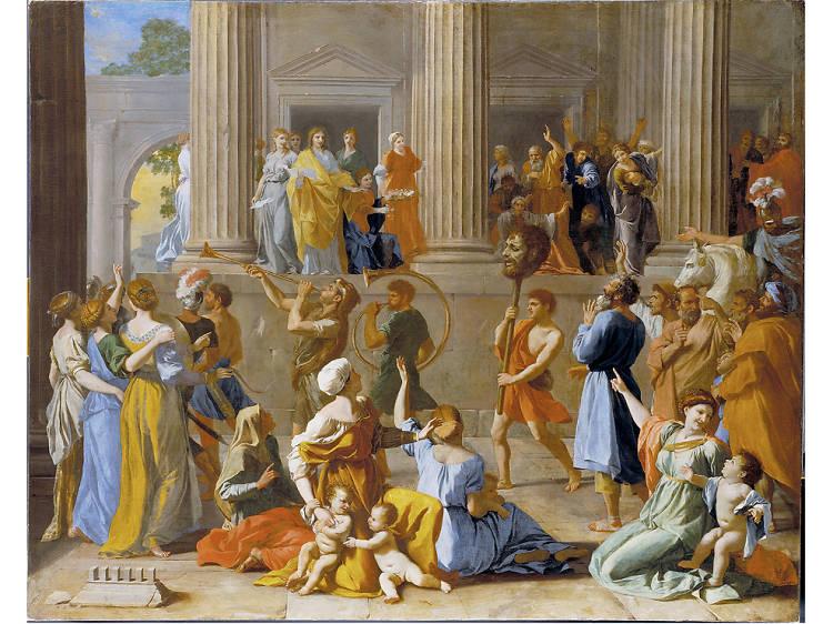 'The Triumph of David' - Nicholas Poussin