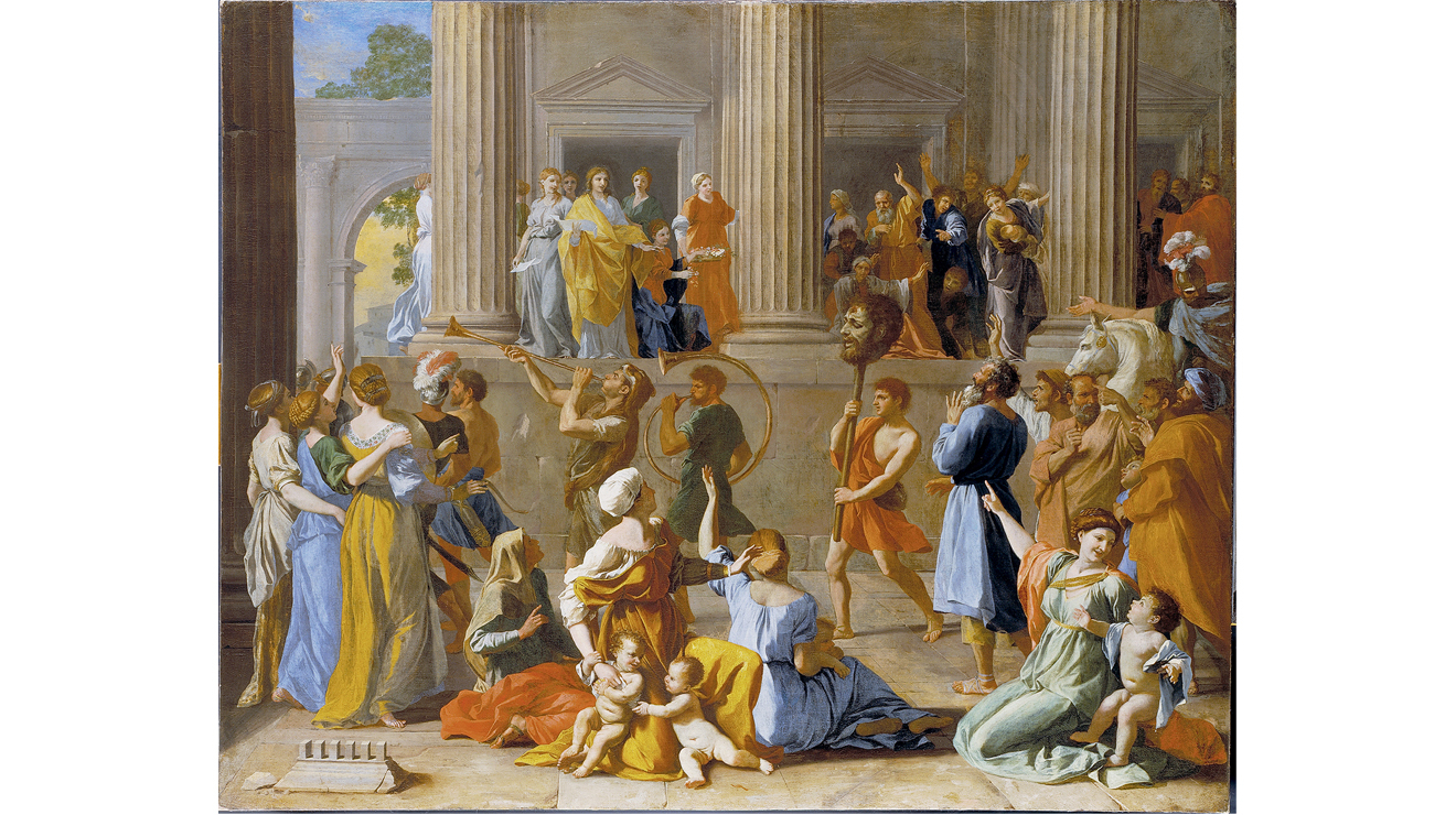 'The Triumph of David' - Nicholas Poussin