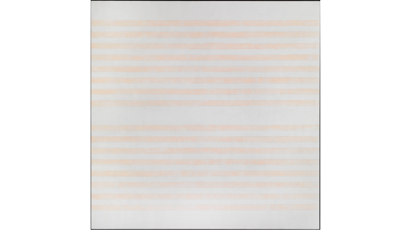 'I Love the Whole World' - Agnes Martin