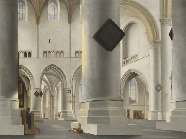 'The Interior of the Grote Kerk at Haarlem' - Pieter Saenredam