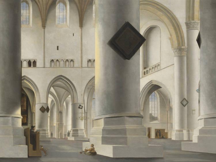 'The Interior of the Grote Kerk at Haarlem' - Pieter Saenredam